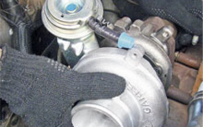 Substituição do turbo remanufaturado da S10