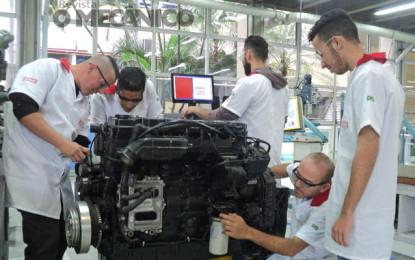 FPT Industrial doa motores diesel para o SENAI-Vila Leopoldina