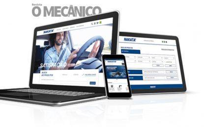 Nakata investe em canais digitais e apresenta novo site, catálogo eletrônico, blog e aplicativo