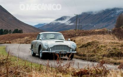 De Carro Por Aí | De volta, o Aston Martin DB5 de James Bond