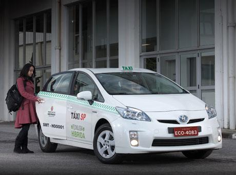 "Táxis ""verdes"" invadem as capitais"