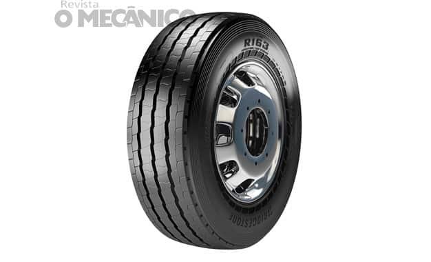 Bridgestone lança pneu e banda de rodagem para pesados urbanos