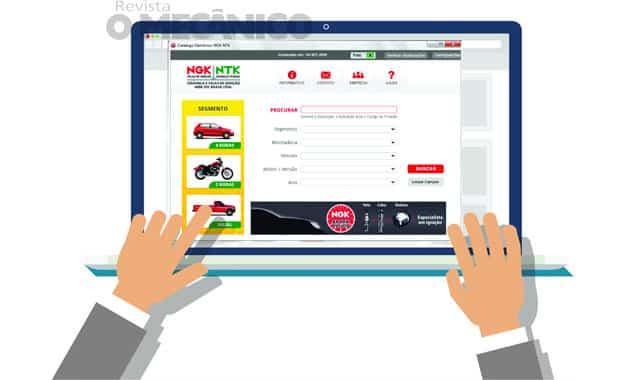NGK lança catálogo eletrônico de peças para download gratuito