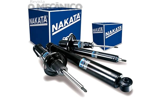 Nakata lança amortecedores HG para veículos de 8 marcas