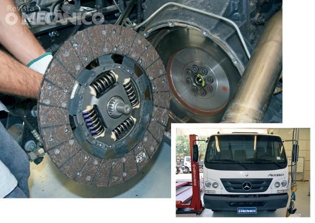 Mecânica Diesel: Troca da embreagem no Mercedes-Benz Accelo 1016