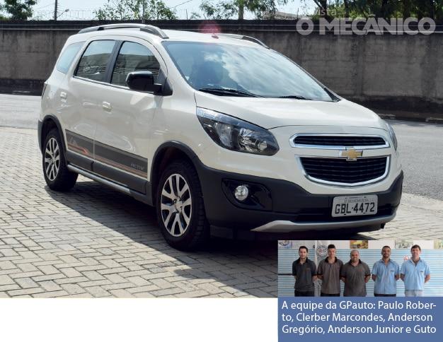 Raio X – As novidades do Chevrolet Spin