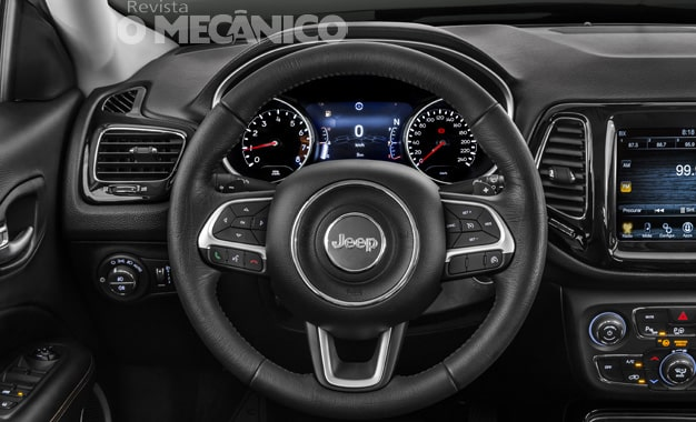 Painel do Jeep Compass