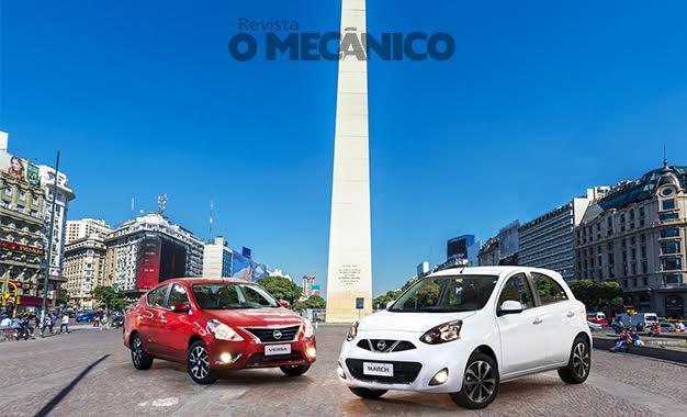 Nissan inicia exportações para a Argentina