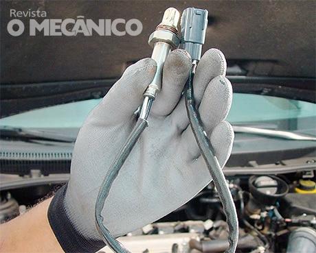 Revista O Mecânico Análise dos sensores do Corolla | Revista