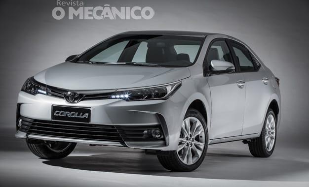 Toyota lança acessórios para o Corolla 2018