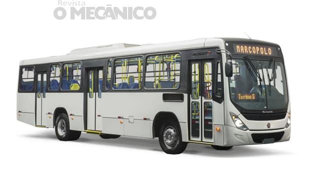 Marcopolo cria versão do ônibus Torino com manutenção facilitada