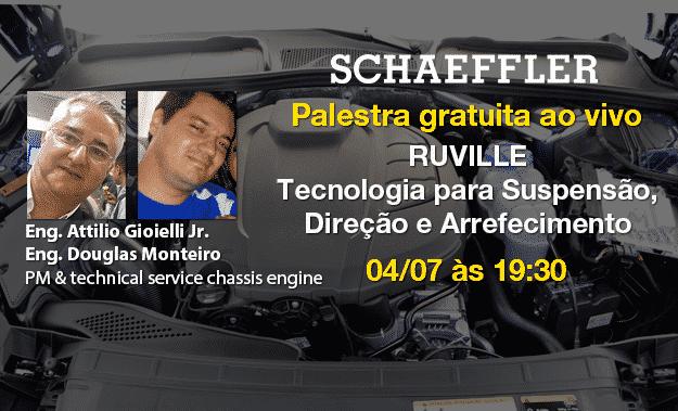 Nesta terça 04/07 tem O Mecânico Ao Vivo com Schaeffler