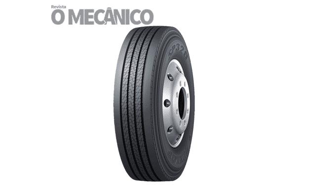 Dunlop lança novo pneu SP 320 para caminhões