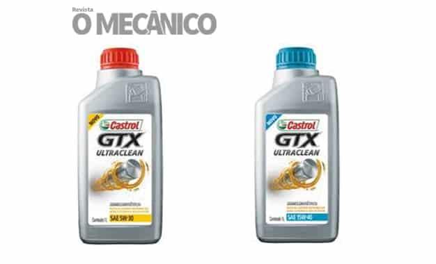 Castrol lança primeiro óleo semissintético da família GTX