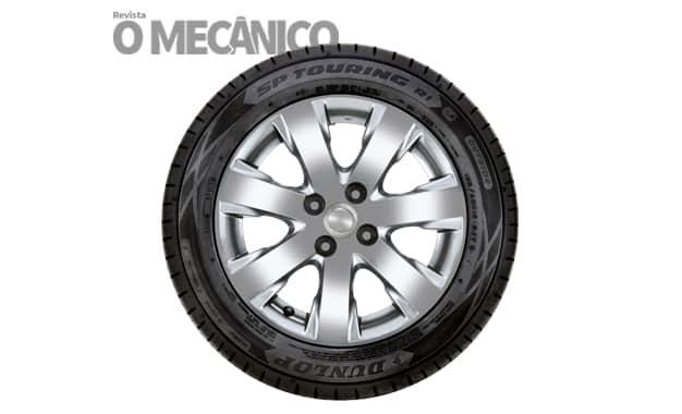 Dunlop lança pneu SP Touring R1 para hatches e sedãs compactos
