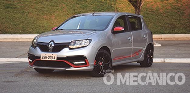 Raio-X – Renault Sandero R.S.: trabalho extra