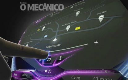 Continental cria tecnologia de alto relevo para display tátil 3D