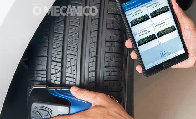 CAOA disponibiliza Scanner 3D para laudo sobre condição de pneus veiculares