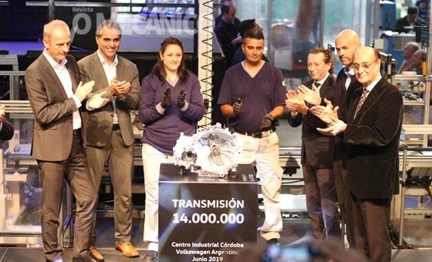 Volkswagen alcança 14 milhões de câmbios fabricados na Argentina