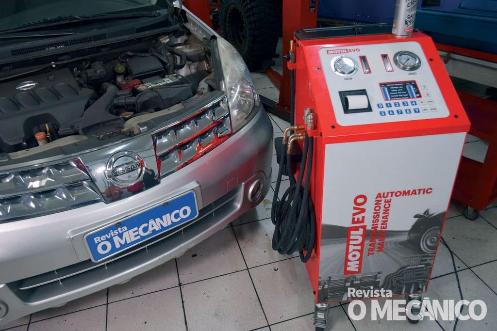Câmbio: Troca mecânica de óleo do câmbio automático