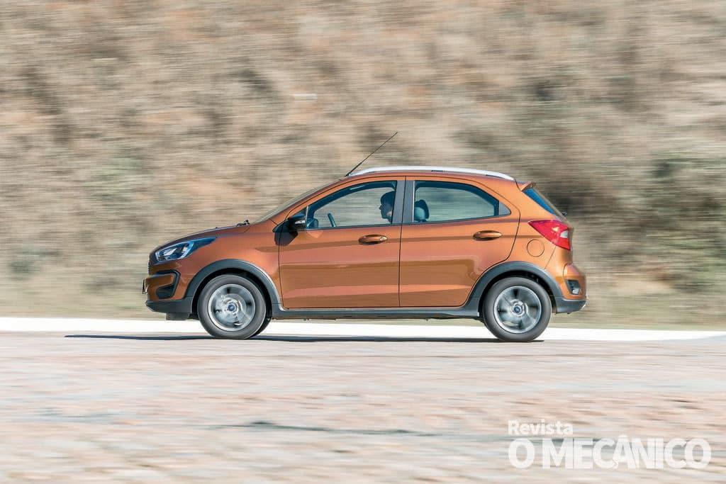 Raio X – Ford Ka FreeStyle 1.5: Bem fabricado e robusto