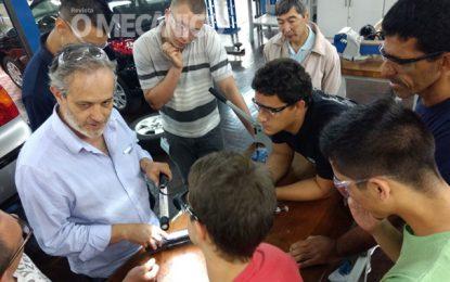 Nakata realiza curso gratuito sobre suspensão no Senai Ipiranga