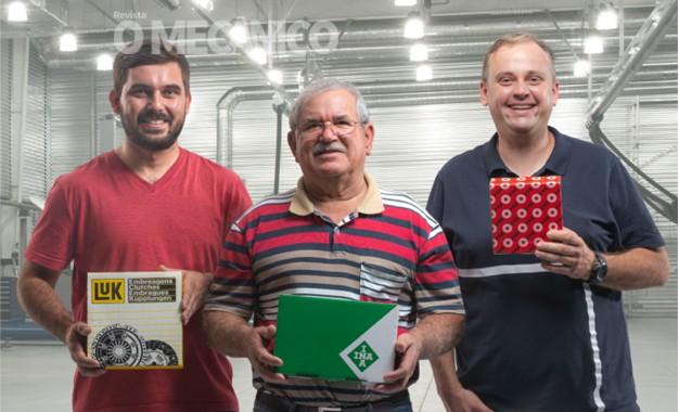 Schaeffler leva mecânicos para visitar sua fábrica e oferece capacitação