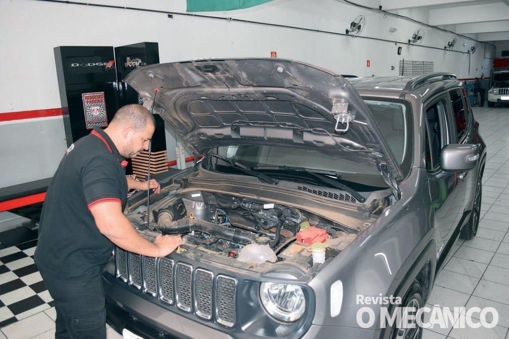 Raio X – Jeep Renegade Diesel exige atenção do mecânico