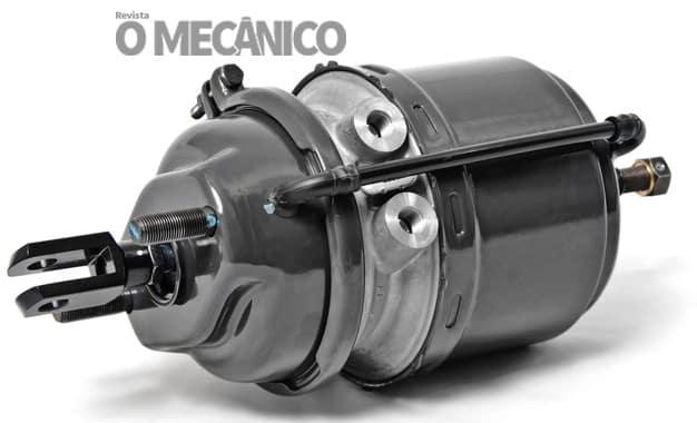 Cilindro de ar para freio Wabco