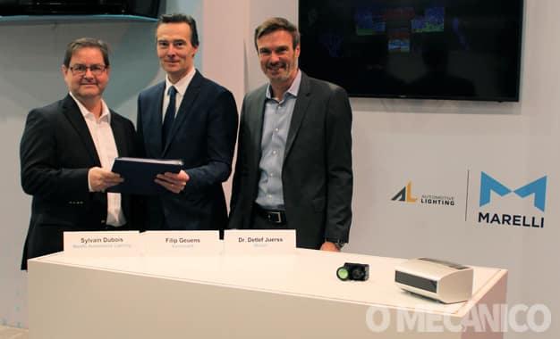 Marelli e XenomatiX firmam parceria no campo de condução autônoma