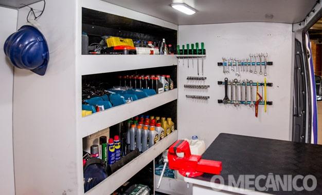 Empresa lança oficina mecânica móvel para atendimento emergencial e preventivo
