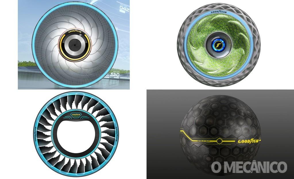 Goodyear relembra seus principais pneus-conceito