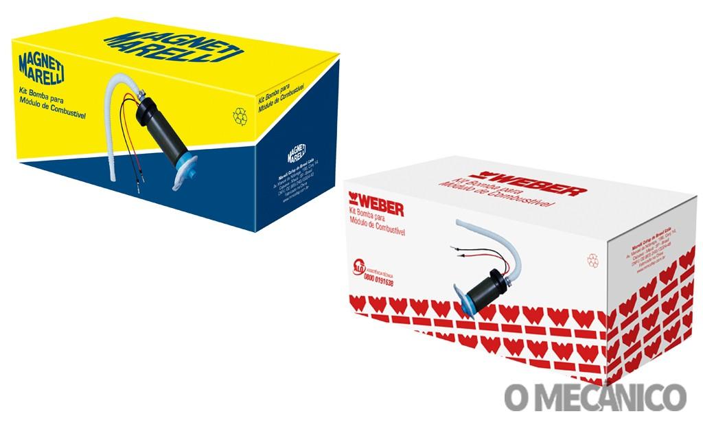 Marelli Cofap tem nova embalagem para a linha de bombas de combustível
