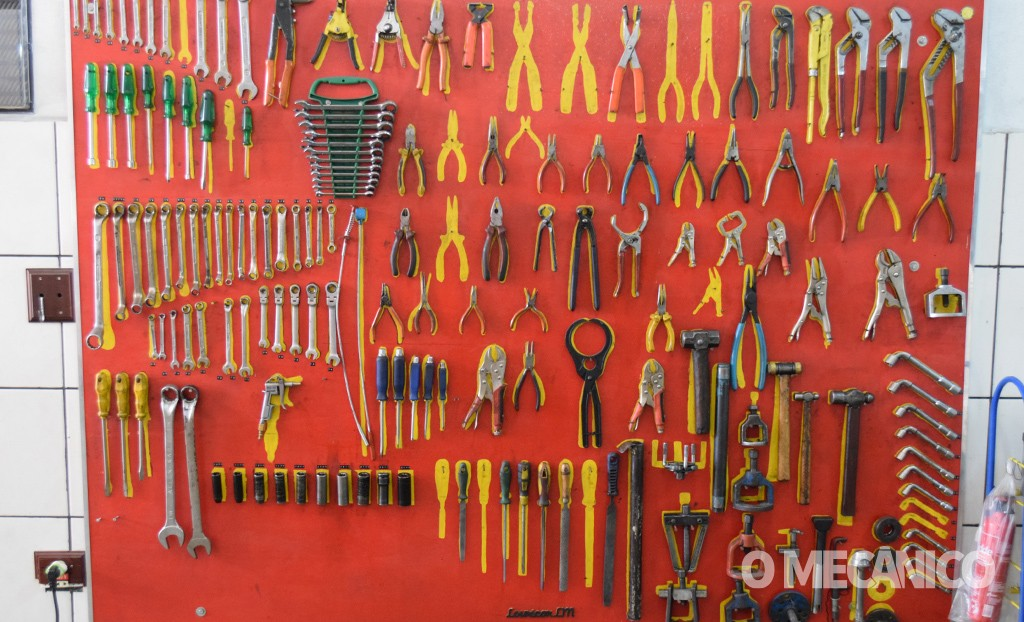 oficina e ferramentas