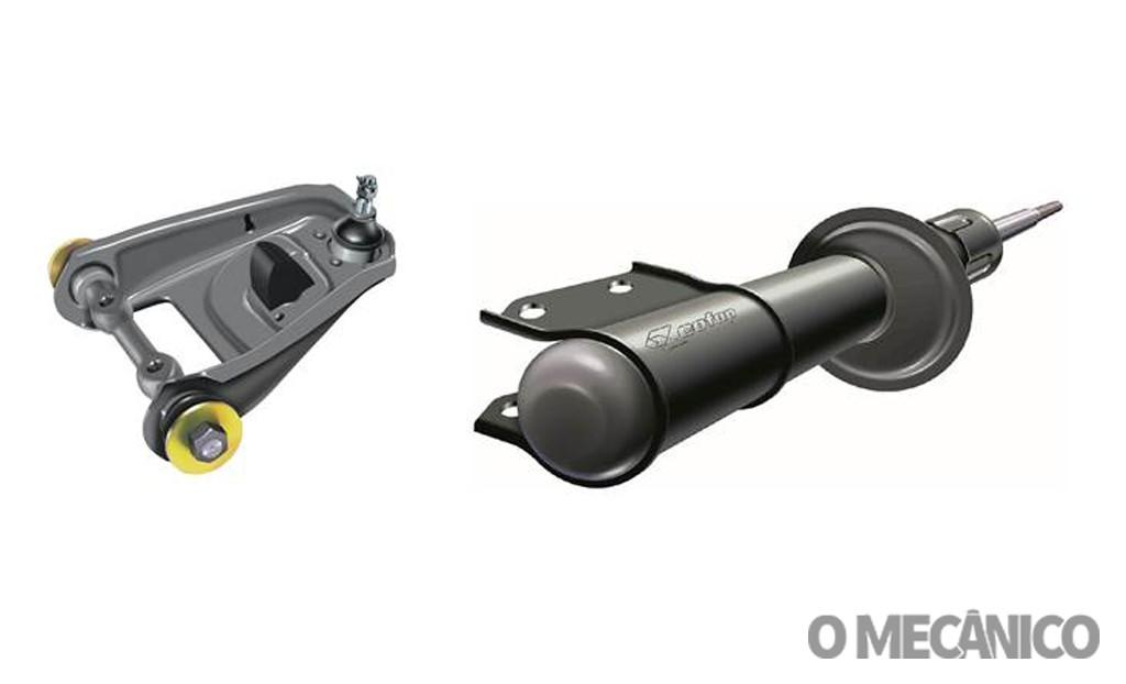 Cofap lança linha de amortecedores e bandejas para veículos de sete montadoras
