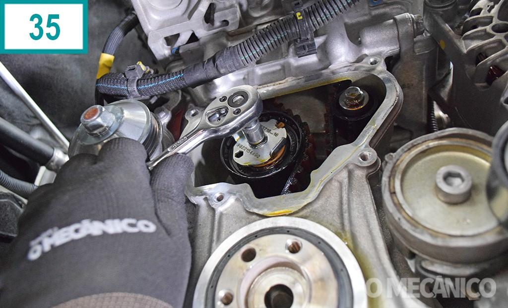 Troca da correia do Peugeot 208 1.2 Puretech