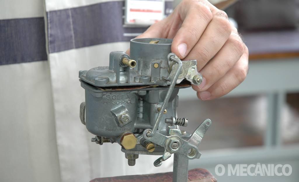 Manutenção de carburadores