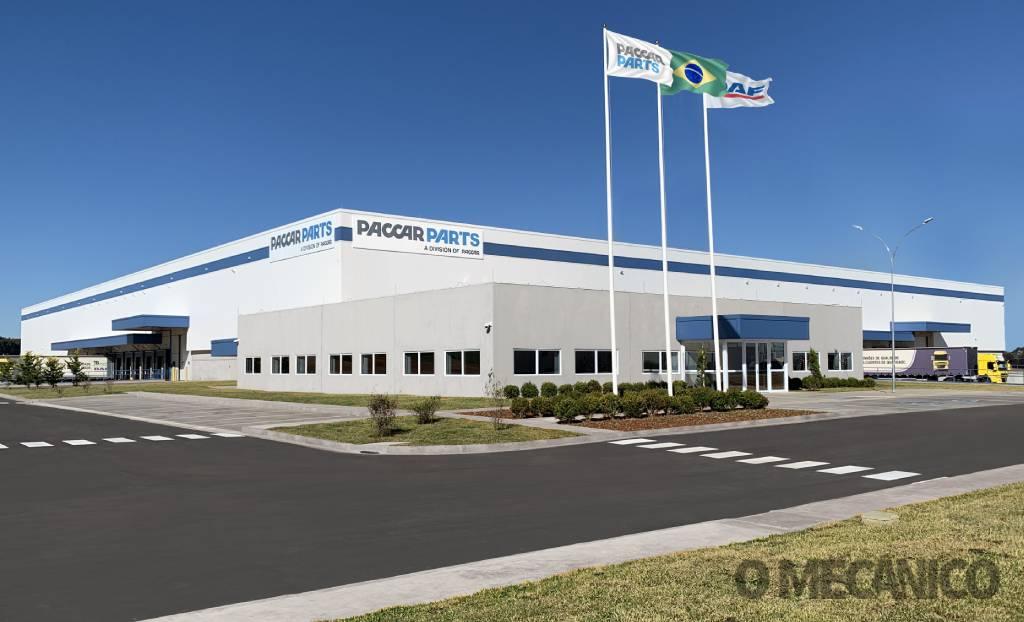 Centro de distribuição da Paccar Parts é inaugurado no Paraná