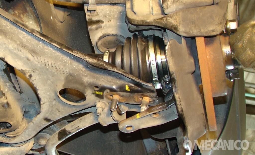 Suspensão do Volkswagen Gol G6