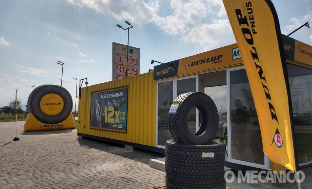 Dunlop tem novo modelo para venda de pneus de carga