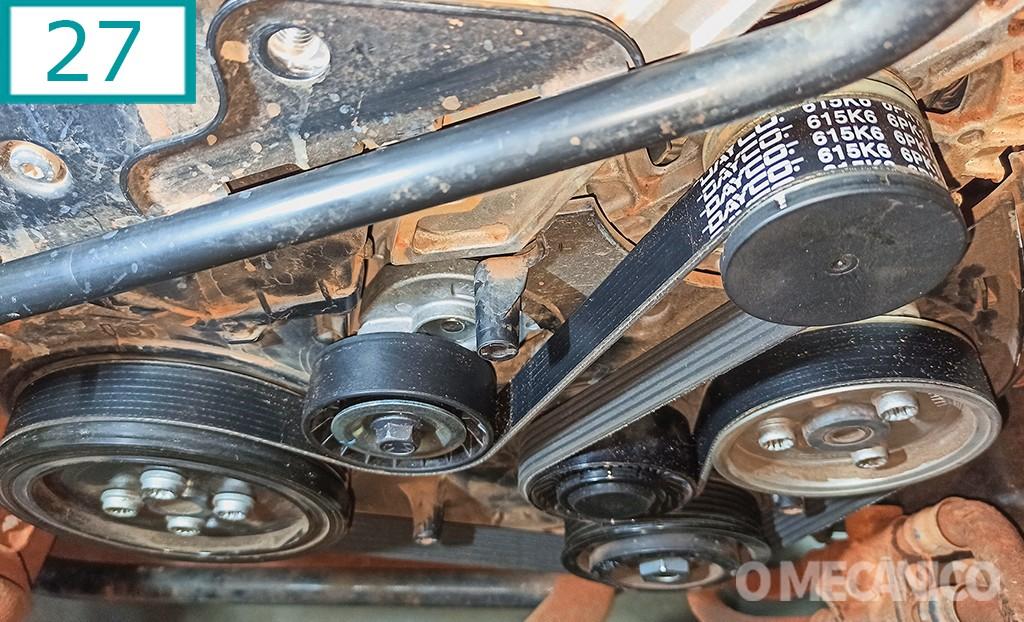correia de acessórios da VW Amarok